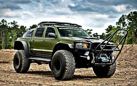 Toyota Tacoma Artic Vehicle