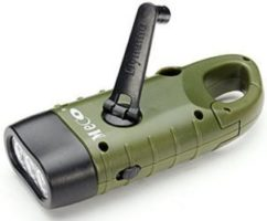 Hand Crank Flashlight